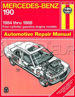 Mercedes Benz Haynes Repair Manual - Haynes HAY-63015