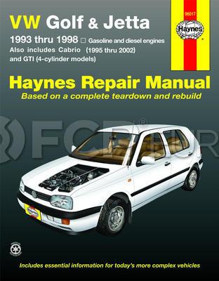 VW Haynes Repair Manual - Haynes HAY-96017