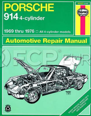 Porsche Haynes Repair Manual - Haynes HAY-80025