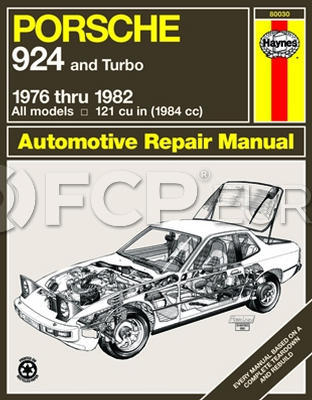 Porsche Haynes Repair Manual - Haynes HAY-80030