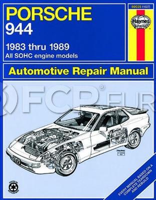 Porsche Haynes Repair Manual - Haynes HAY-80035