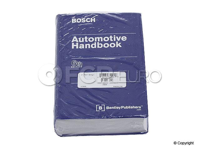 Bosch Automotive Handbook - Bentley H014