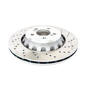 BMW Brake Disc - Zimmermann 34212284812