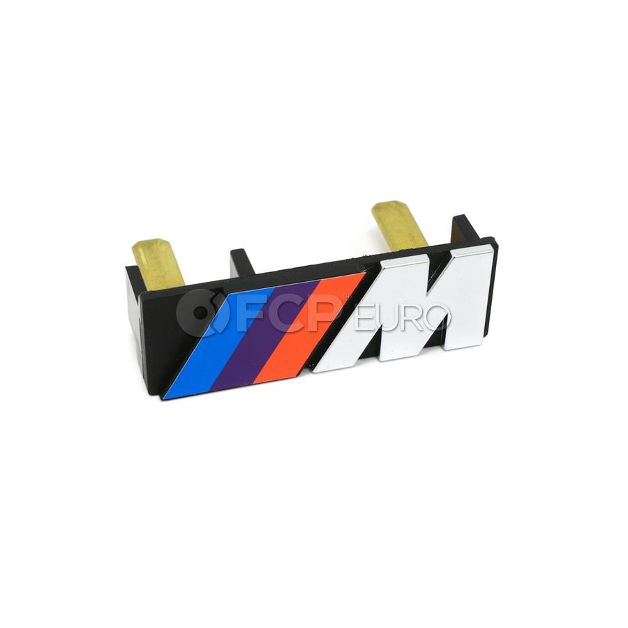 "BMW Letter ""M"" Front - Genuine BMW 51141884015"
