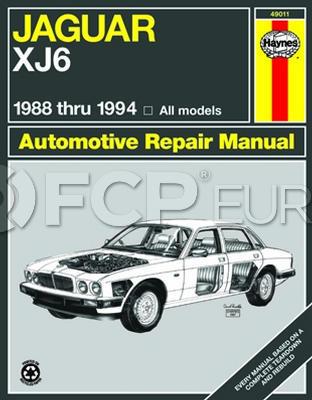 Jaguar Haynes Repair Manual - Haynes HAY-49011