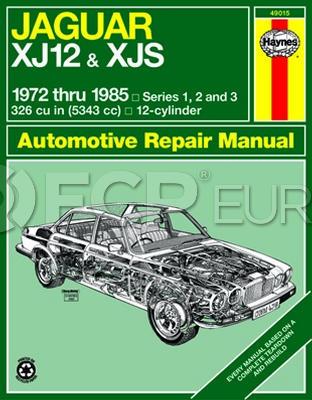 Jaguar Haynes Repair Manual - Haynes HAY-49015