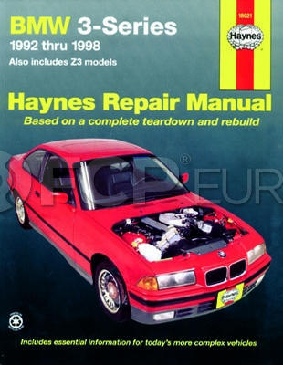 BMW Haynes Repair Manual - Haynes HAY-18021