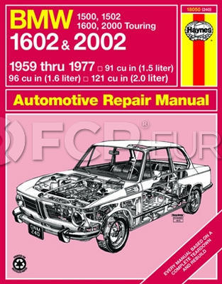 BMW Haynes Repair Manual - Haynes HAY-18050