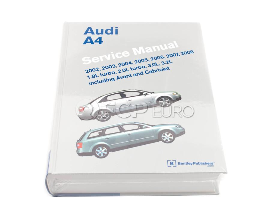 Audi Repair Manual - Bentley A408