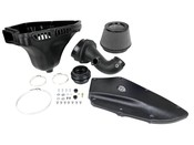 BMW Magnum FORCE Stage-2 Si Cold Air Intake System - Black Trim w/Pro DRY S Filter Media - aFe 51-81012-B