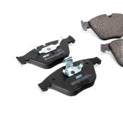 BMW Brake Pad Set - Jurid 34116794917