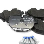 BMW Brake Pad Set - Genuine BMW 34216796741