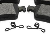 Volvo Brake Pad Set - Bosch 30742031