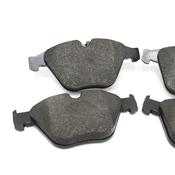 BMW Brake Pad Set - Jurid 34116780711