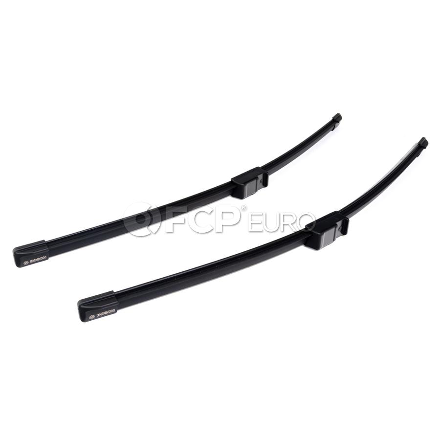 VW Windshield Wiper Blade Set - Bosch 3B0998002A