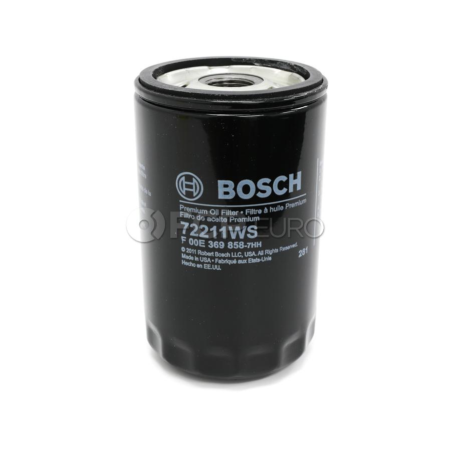 Audi VW Oil Filter - Bosch 72211
