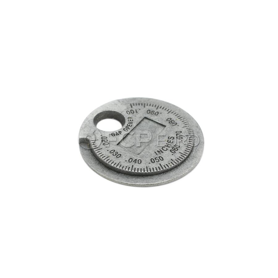Ramp Style Spark Plug Gap Tool - Lisle 67870