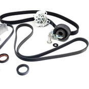 VW Timing Belt Kit with Water Pump (10-Piece) - Continental / Graf AUGTBKIT