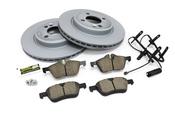 Mini Brake Kit - Zimmermann/Akebono 34111502891KTF