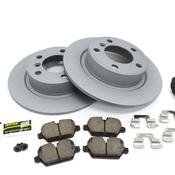 Mini Brake Kit - Zimmermann/Akebono 34219811539KTR