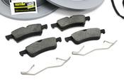 Mini Brake Kit - Zimmermann/Bosch 34116858652KTFR