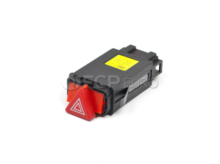 Audi Hazard Flasher Switch - OE Supplier 8D0941509H01C