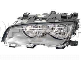BMW Halogen Headlight Assembly - Genuine BMW 63126908227