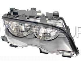 BMW Halogen Headlight Assembly - Genuine BMW 63126908228