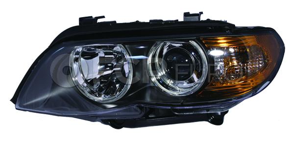 BMW Halogen Headlight Assembly - Genuine BMW 63127164443