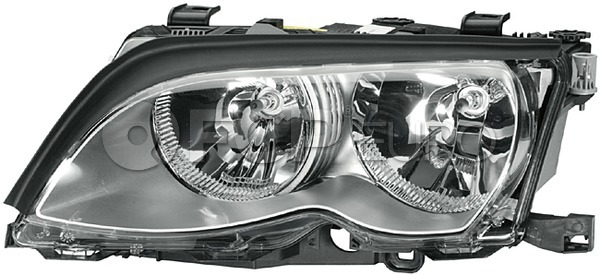 BMW Halogen Headlight - Magneti Marelli 63127165785