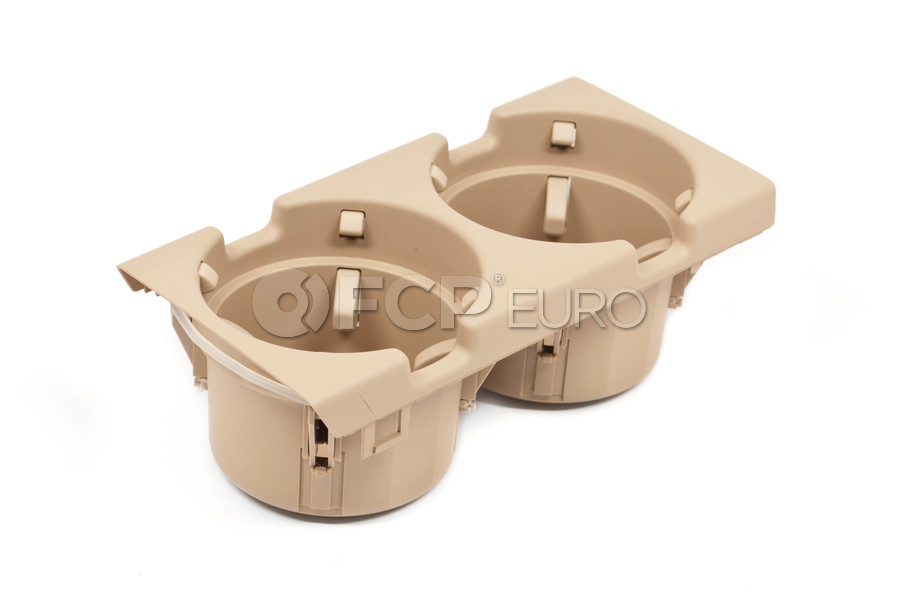 BMW Cup Holder Beige - Genuine BMW 51168217955