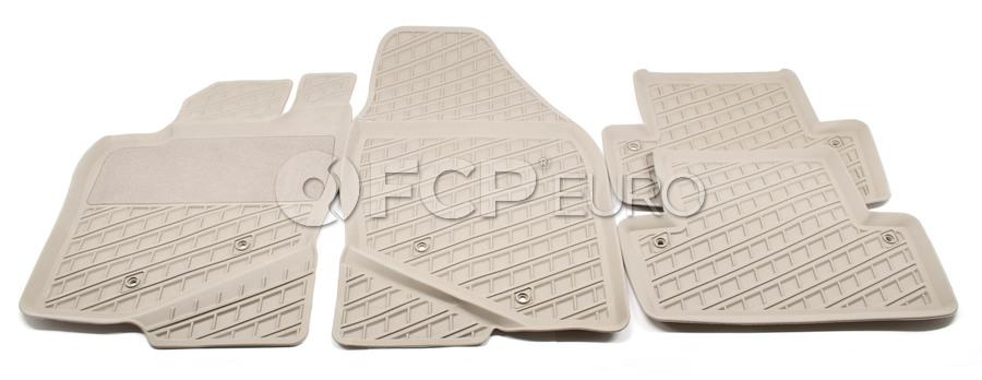 Volvo Rubber Floor Mat Set Oak - Genuine Volvo 39891778