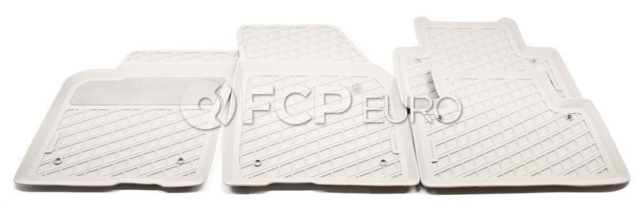 Volvo Rubber Floor Mat Set Quartz - Genuine Volvo 39807168