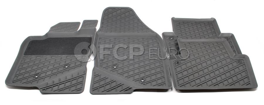 Volvo Rubber Floor Mat Set Grey - Genuine Volvo 39998294