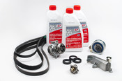 Audi Timing Belt Kit with Coolant - AWMTBKIT2G12