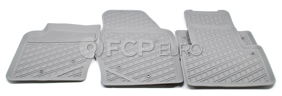 Volvo Rubber Floor Mat Set Umbra - Genuine Volvo 31307315