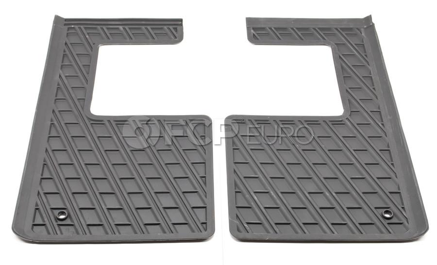 Volvo 3rd Row Floor Mat Set Grey - Genuine Volvo 39972683