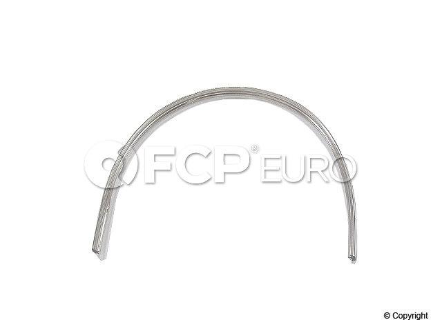 BMW Back Glass Seal - Chrome Insert - Genuine BMW 51311820624