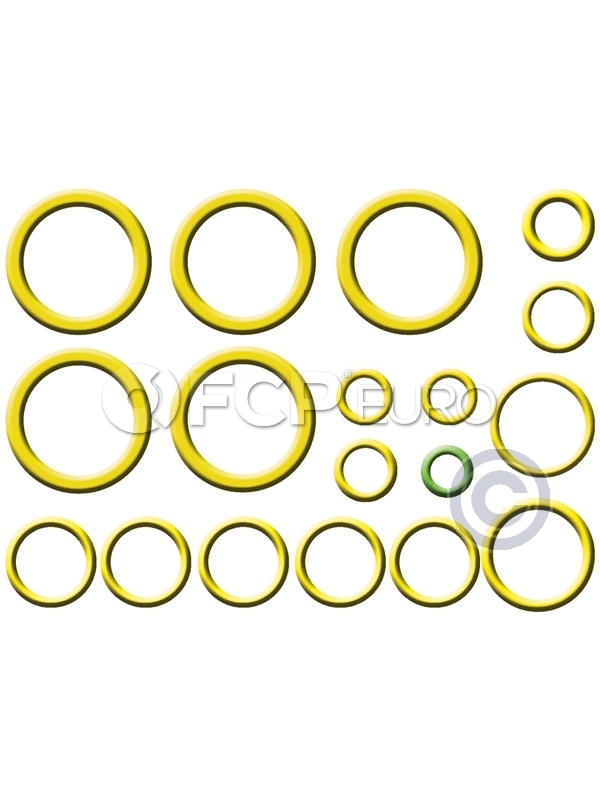 Volvo A/C System O-Ring and Gasket Kit - Santech MT2671