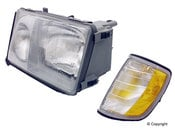 Mercedes Headlight Assembly - Magneti Marelli 1248208959