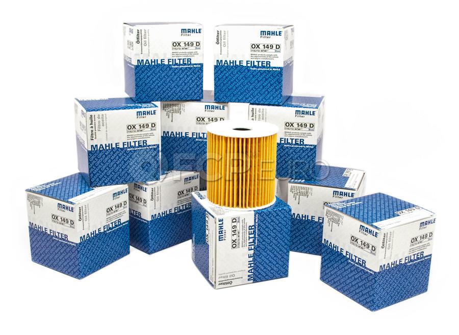 VOLVO C70 S40 S60 S70 S80 XC90 Oil Filter Kit SET OF 4 MAHLE OEM NEW