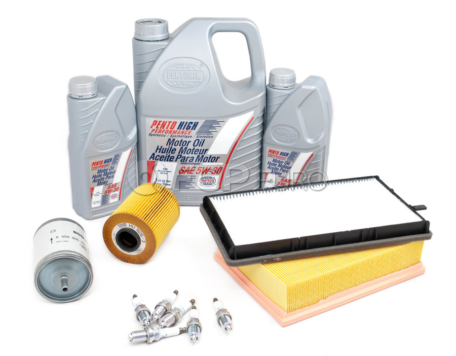 BMW Tune Up and Filters Kit with Oil - E36TUNEKIT6-Oil