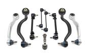 BMW 9-Piece Control Arm Kit - Meyle E329PIECE