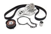 VW Timing Belt Kit with Water Pump (4-Piece) - Contitech / Graf TDIKIT3