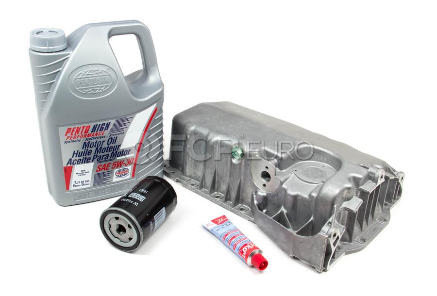 Audi VW Oil Pan Kit - Meyle / Pentosin 500159