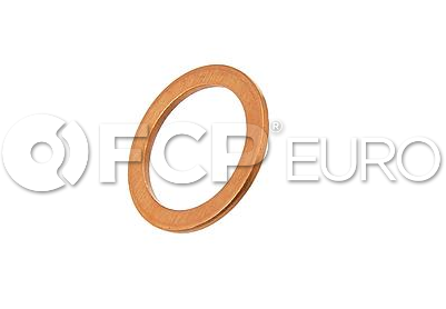 Audi VW Oil Drain Plug Gasket - OE Supplier N0138492