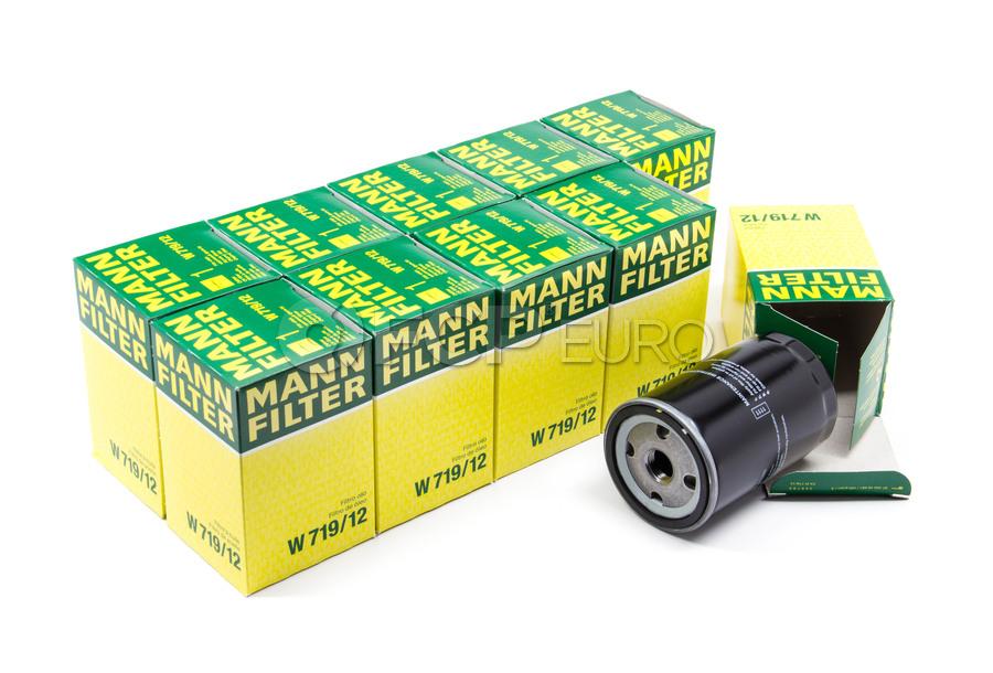 VW Oil Filter Case (Pack of 10) - Mann W719/12
