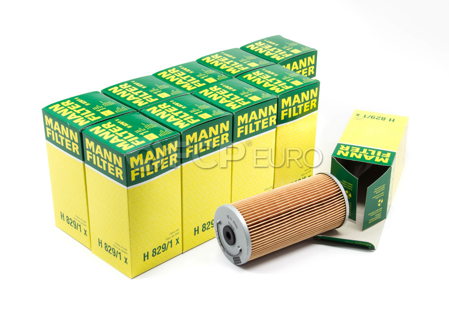 Mercedes Engine Oil Filter Case - Mann H829/1X-10