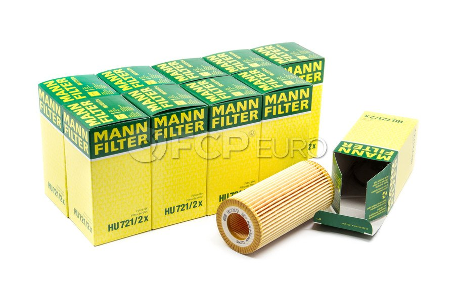 Mercedes Engine Oil Filter Case - Mann HU721/2X-10