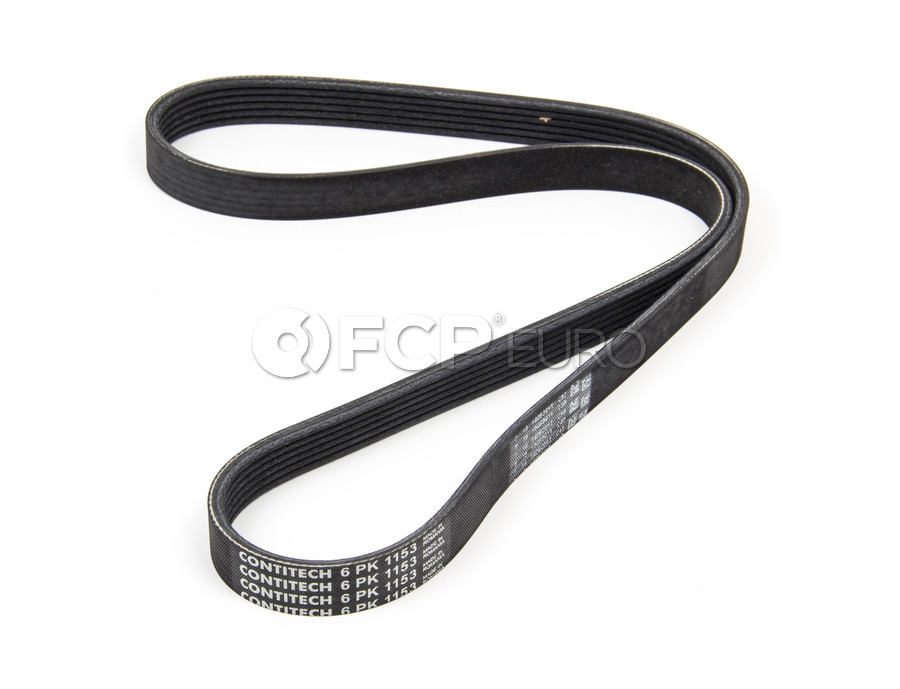 VW Drive Belt - Contitech 6PK1153
